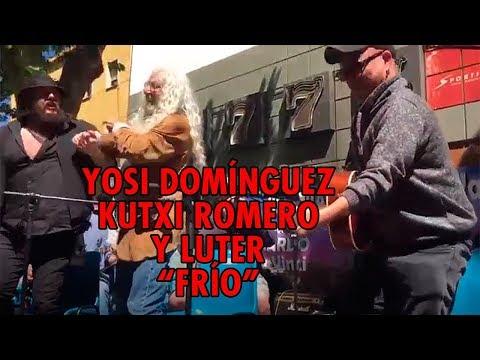 "yosi-domínguez,-kutxi-romero-y-luter:-""frío"""