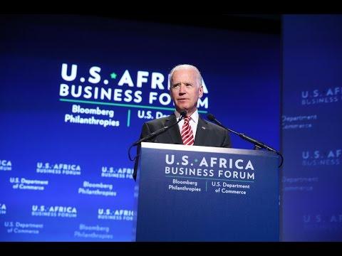Vice President Joe Biden Speaks at the U.S. Africa Business Forum