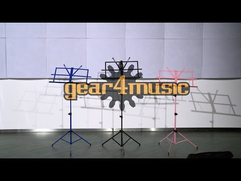 Music Stand with Carry Bag by Gear4music