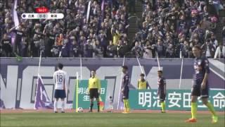 明治安田生命J1リーグ開幕戦で、アルビレックス新潟と対戦! 工藤壮人...