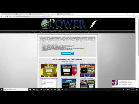 HOW TO MAKE MONEY ONLINE POWER LEAD SYSTEM 15 MINUTE ACTION TAKERS CAPTURE PAGES