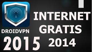 [DroidVPN] Internet gratis 2015// UDP Full ||AndroidStudios