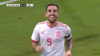 Уэльс-Испания.товарищеский матч.Обзор