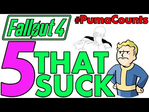 Top 5 Reasons Fallout 4 Sucks A$$$$ #PumaCounts