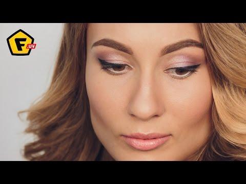 Свадебный макияж + причёска, Bridal Makeup + hair. Воздушный пучок. Нежный макияж