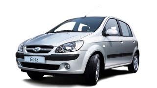 Замена лобового стекла на Hyundai Getz в Казани.
