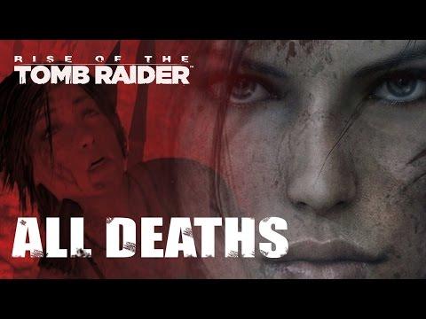 Rise of the Tomb Raider: All Lara Croft Death Scenes