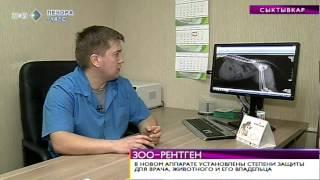 Время новостей. В Сыктывкаре появился рентген-аппарат для животных. 12 февраля 2014