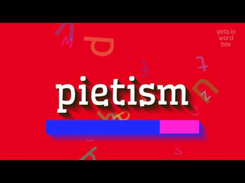 "How to say ""pietism""! (High Quality Voices)"