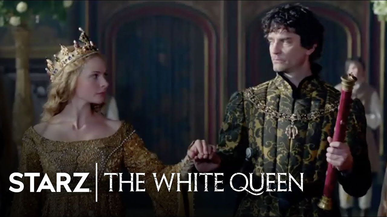 the white queen series overview starz youtube. Black Bedroom Furniture Sets. Home Design Ideas