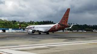 737 MAX 8 Malindo air