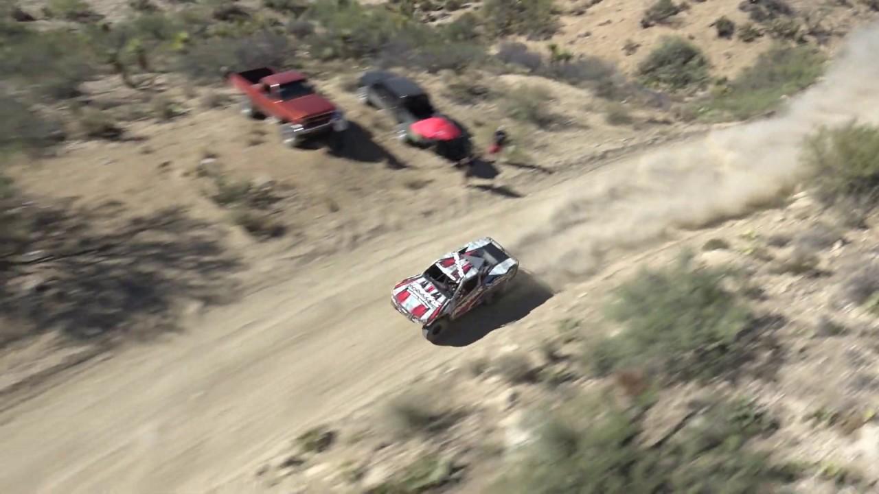 Helicopter RAW -  Sheldon Creed Baja Mexico - Stadium SUPER Trucks - NO AUDIO