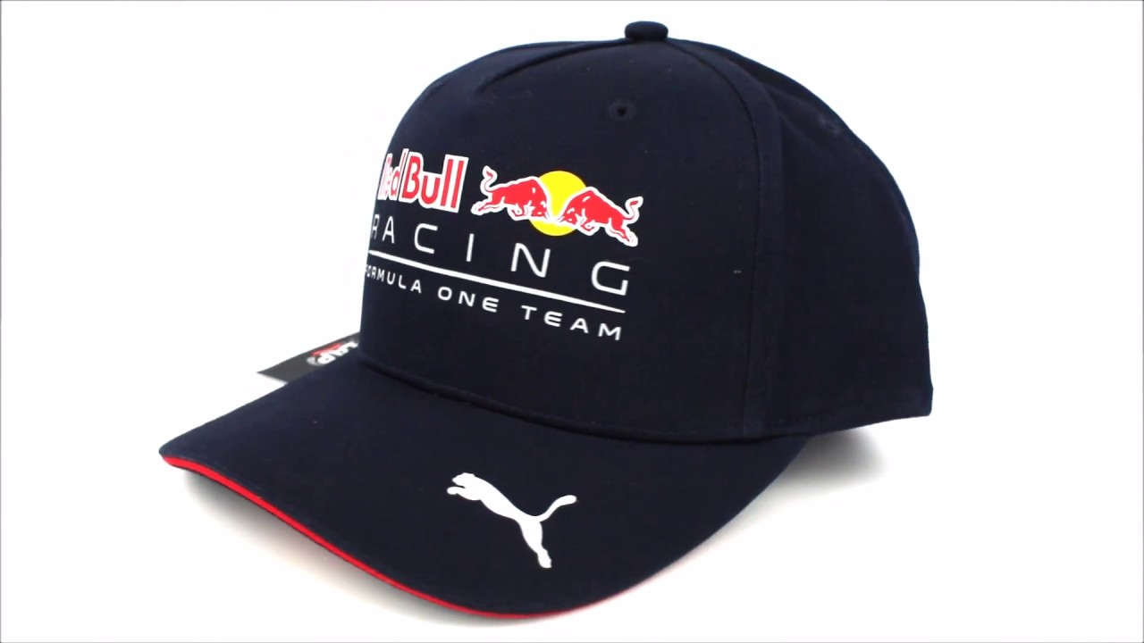 84b69d505394 Gorra Red Bull Racing Oficial 2017 - YouTube
