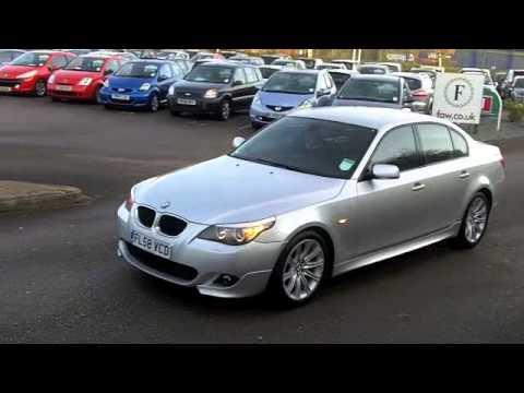 USED BMW 5 SERIES DIESEL SALOON 2008 520D M SPORT 4DR 177