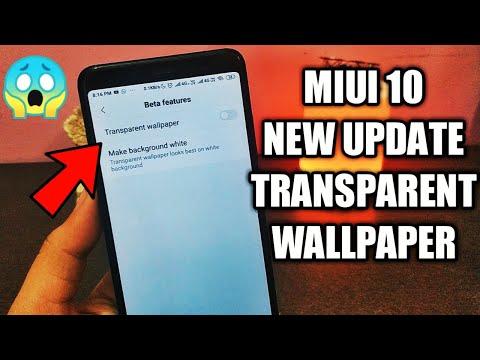 Download Miui 10 New Transparent Wallpaper Official Miui 10 Beta
