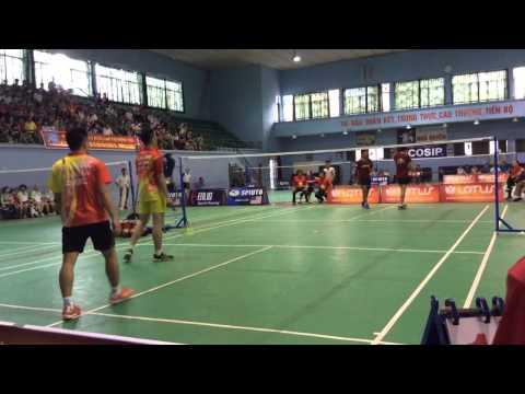 Cầu Lông Việt Nam: [Trận giao lưu giữa] Hai Phong team VS Ciputra Hanoi [720p HD]