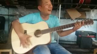 Test guitar modern tầm trung - NDSHOP