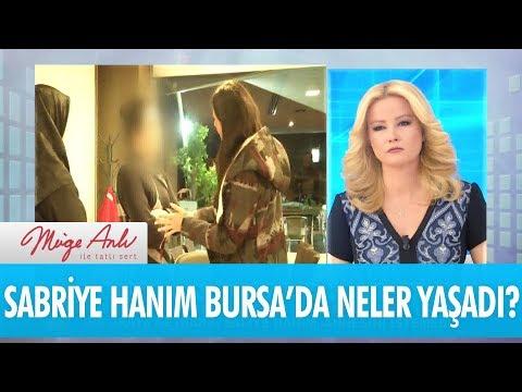 Sabriye Hanım kızı için Bursa'ya gittiğinde neler yaşadı? - Müge Anlı İle Tatlı Sert  21 Kasım
