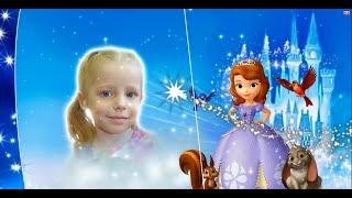 Слайд шоу для маленькой принцессы в стиле Disney на заказ