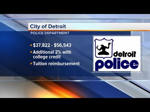 Detroit police looking to hire new officers