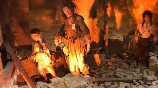 原爆資料館 広島 2015年12月10日 被爆再現人形 検索動画 4