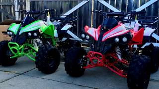 Cougar cycle 125cc kids atv video for High style motoring atv