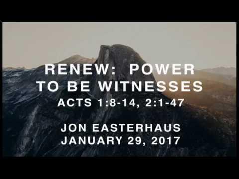 Renew: Power To Be Witnesses
