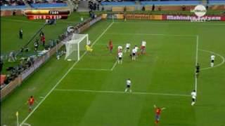 But de Puyol contre l'Allemagne