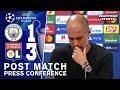 Man City 1-3 Lyon - Pep Guardiola - Post Match Press Conference - Champions League
