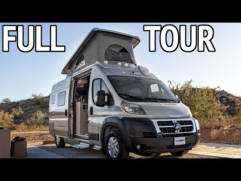 Pop Top Class B RV - Hymer Aktiv 2.0 Loft Edition Walkthrough