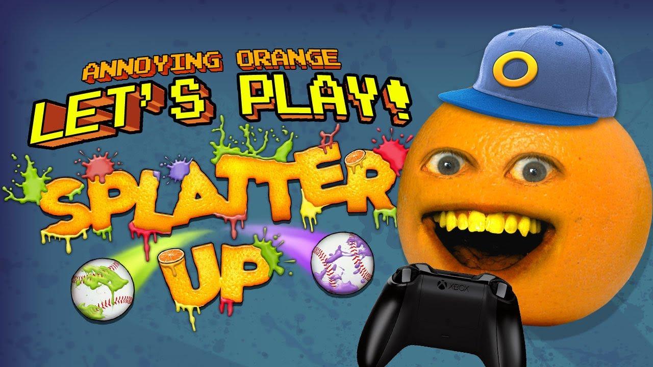 Annoying Orange Let S Play Splatter Up Youtube