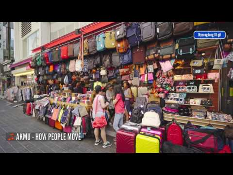 Myeongdong Street View 4K - Part 1 of 2