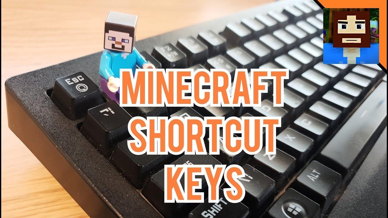 Useful Shortcut Keys For Minecraft