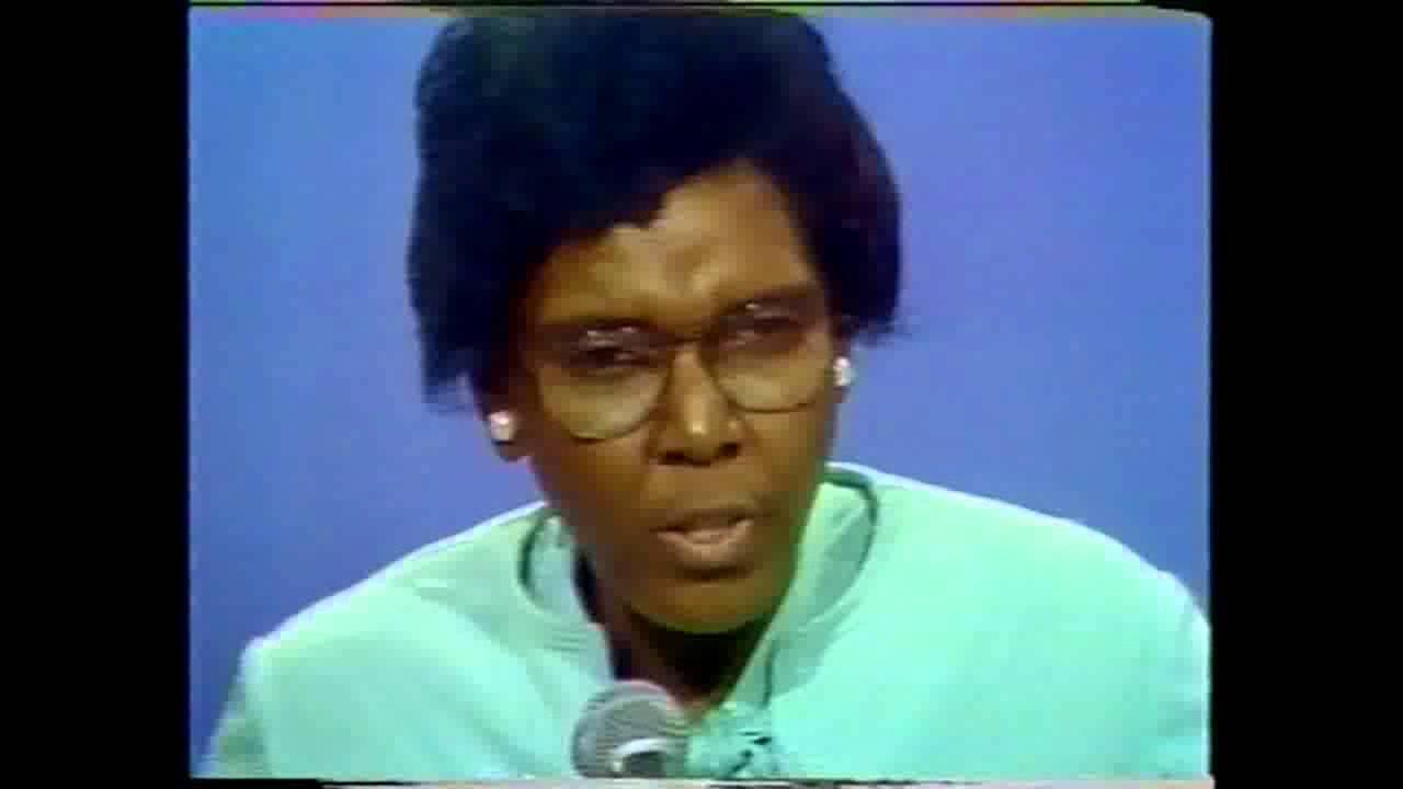 Barbara Jordan, Democratic National Convention Keynote ...