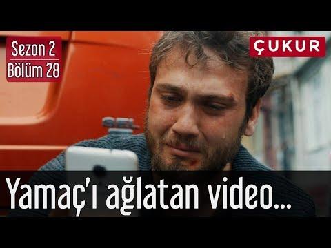 Çukur 2.Sezon 28.Bölüm - Yamaç'ı Ağlatan Video...