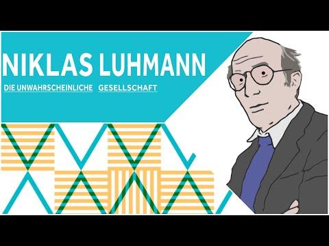 Philosophisches Gespräch: Niklas Luhmann. Die unwahrscheinliche Gesellschaft
