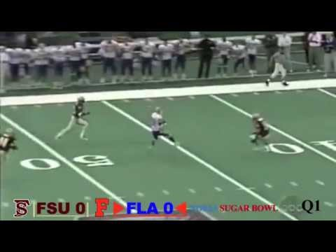 1997 Sugar Bowl: #3 Florida Gators vs. #1 Florida State Seminoles