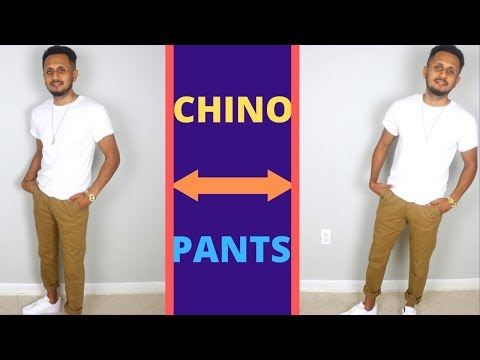 3 Creative Ways To Style Your Chino Pants I Men's Fashion