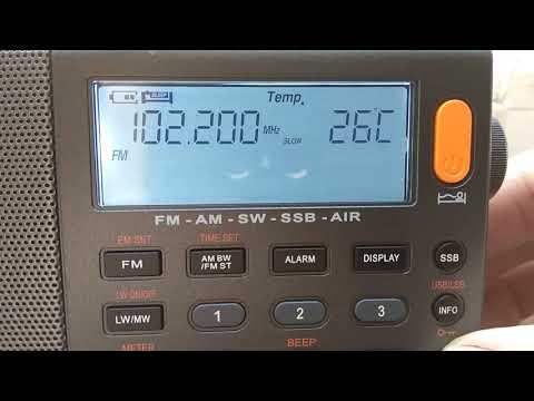 Радиоприёмник Xhdata D-808 небольшой обзор и тест.