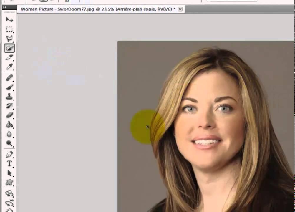 Photoshop Changer La Couleur De Fond 2 Methodes Youtube
