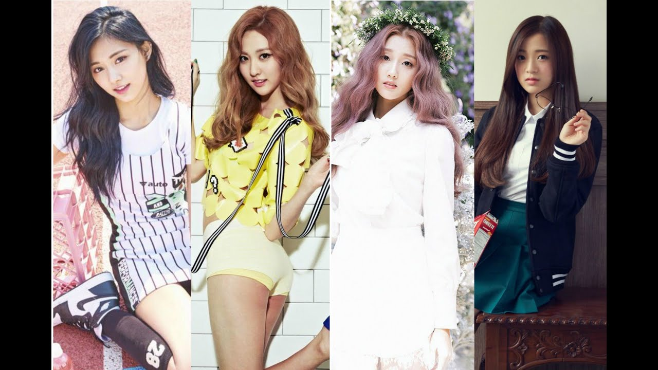 Top 35  Youngest Girl Groups Maknaes - Youtube-8093