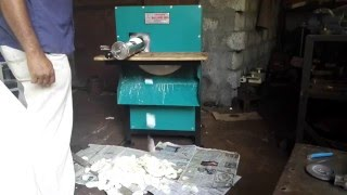Tapioca, Cassava, Kappa, Kuchikilangu, Maravalli Chips Cutting Machine -Sri Udayam Engineering Works