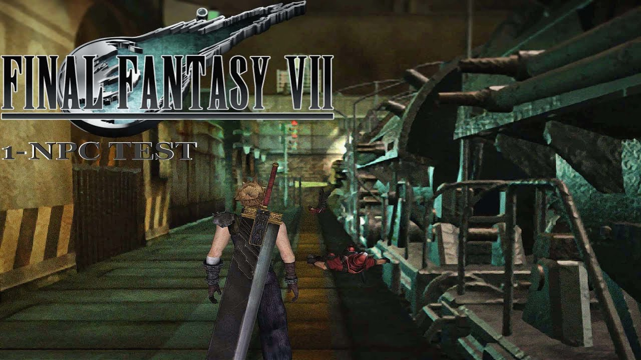 Final Fantasy VII - Npc Mod/Test 1 by The Berserker