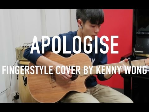 One Republic - Apologize Fingerstyle Guitar Cover by Kenny Wong