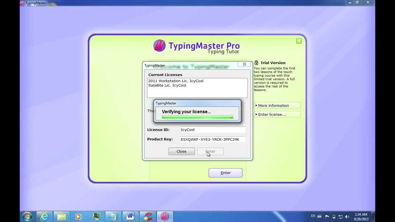 How to change and add paragraph in Typing Master - Peak Knowledge