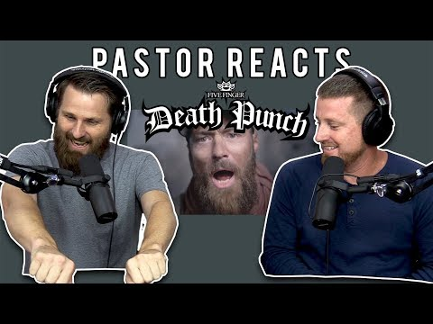 Pastor Reacts to Five Finger Death Punch // Wrong side of heaven