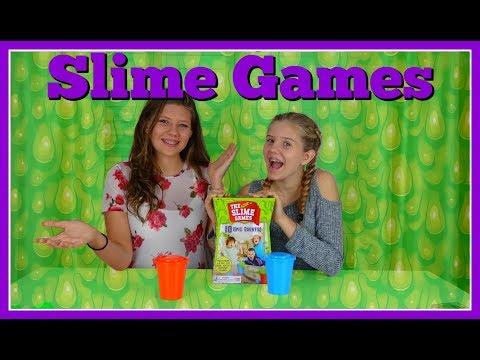 SLIME GAMES || SLIME CHALLENGE || Taylor and Vanessa