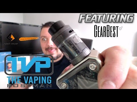 Geekvape zeus RTA, build, wick and review