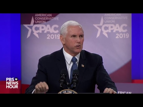 WATCH: Vice President Mike Pence addresses CPAC