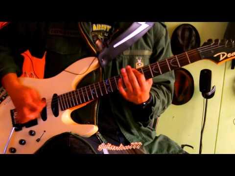 Agnostic Front A Mi Manera Guitar Cover By guitarloco777